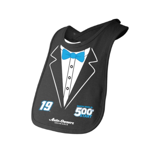 #19 Martin Truex Jr. 500th Start Baby Bib - martin-truex-jr-retail-store