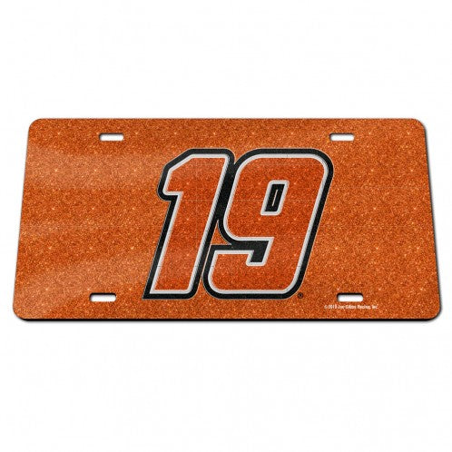 #19 Martin Truex Jr. SPECIALTY Glitter License Plate