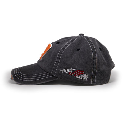 #19 Bass Pro Shops Gray Distressed Hat
