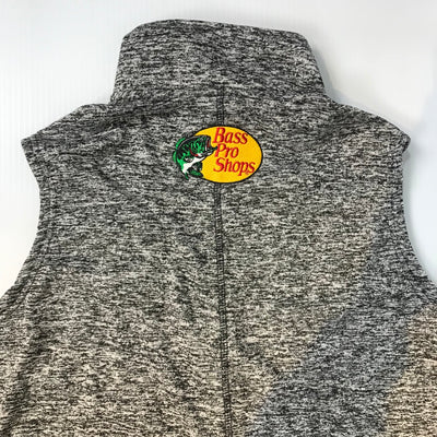 #19 Martin Truex Jr. Bass Pro Shops Ladies Gray Vest with Coral Accent