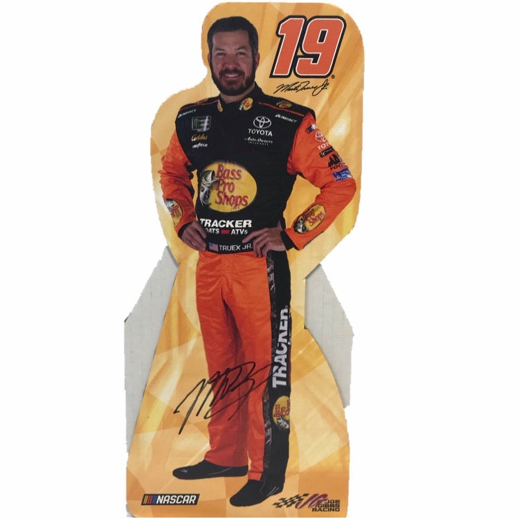 Autographed Martin Truex Jr. Mini Stand-Up