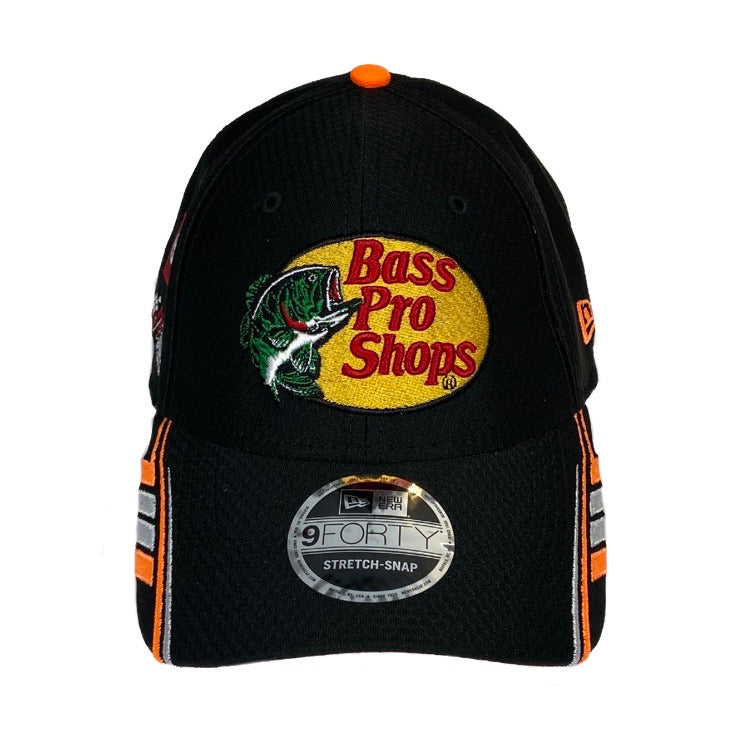 2020 Martin Truex Jr. #19 New Era Bass Pro Shops Sponsor Hat (Snapback)