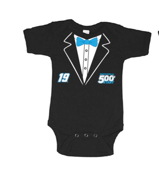#19 Martin Truex Jr. 500th Start Baby Onesie - martin-truex-jr-retail-store
