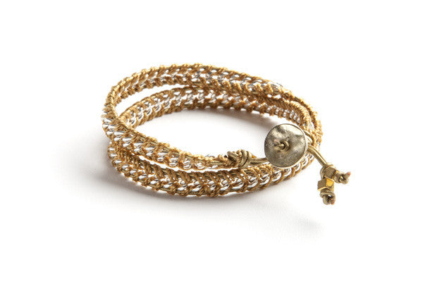 EXOTIC DOUBLE WRAP BRACELET
