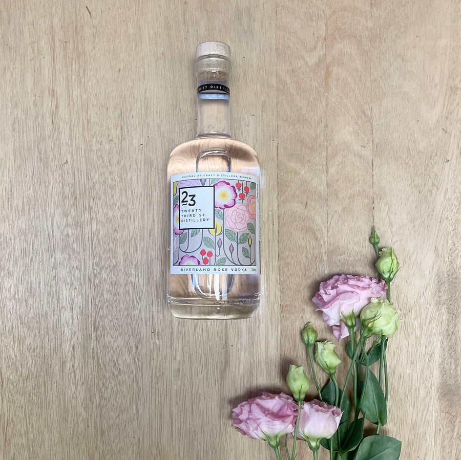 Twenty Third Street Distillery Rose Vodka - Sleek and Unique Gifts