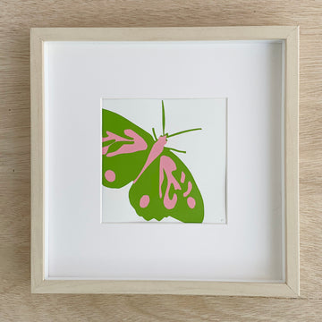 Adelaide Gift Delivery - Butterfly Print Original Artwork framed