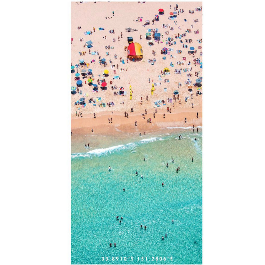 Aussie Summer Design Destination Sand Free Towel - Gift Delivery Adelaide