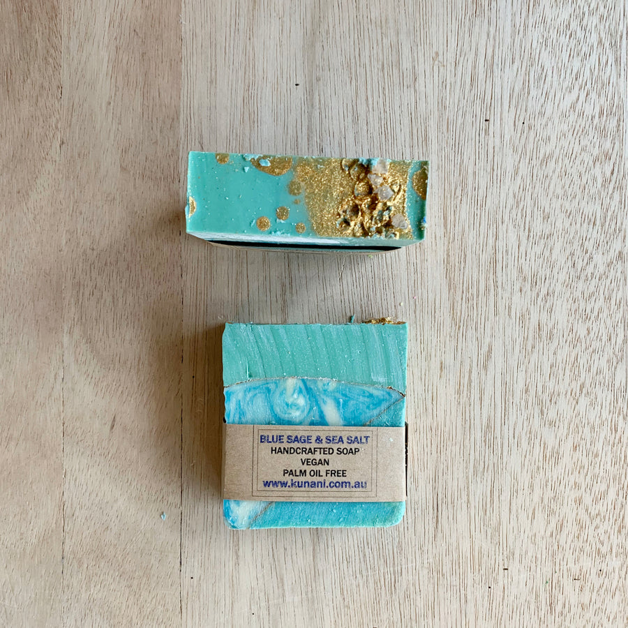 Blue Sage & Sea Salt - Kunani - Gift Delivery Adelaide