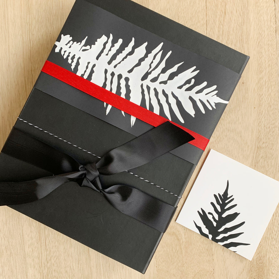 Sleek Black Gift Box - Australia Gift Delivery
