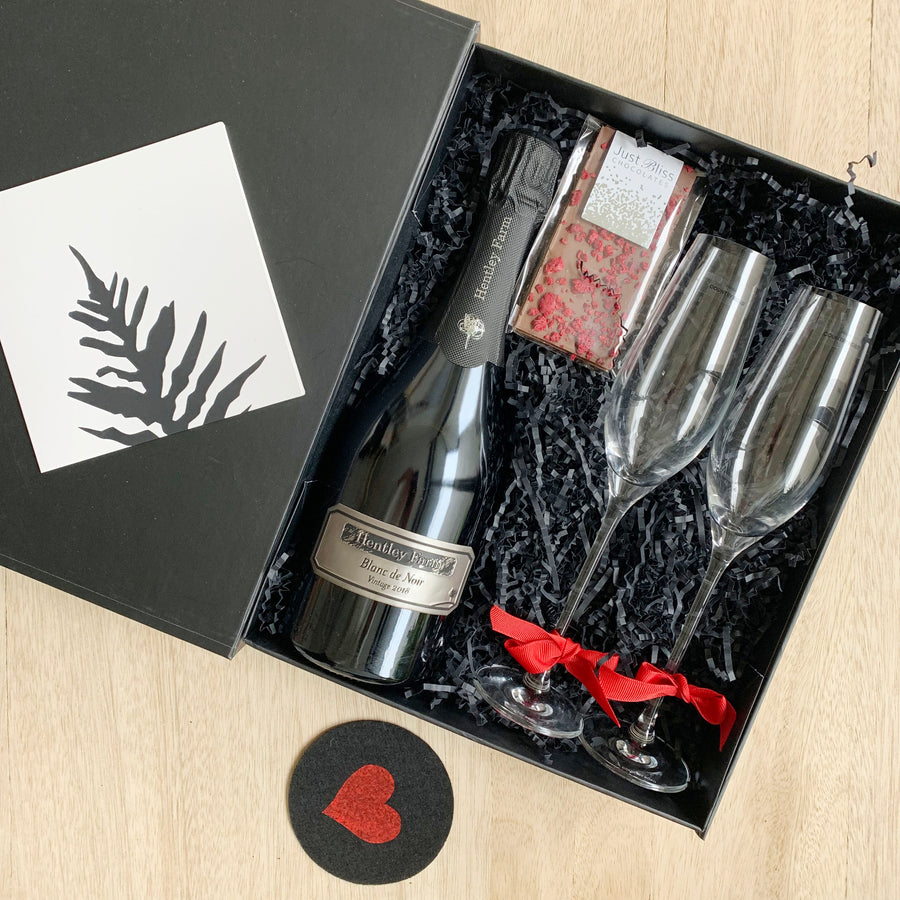 Champagne Gift Box for Adelaide Delivery - Sleek and Unique Gifts