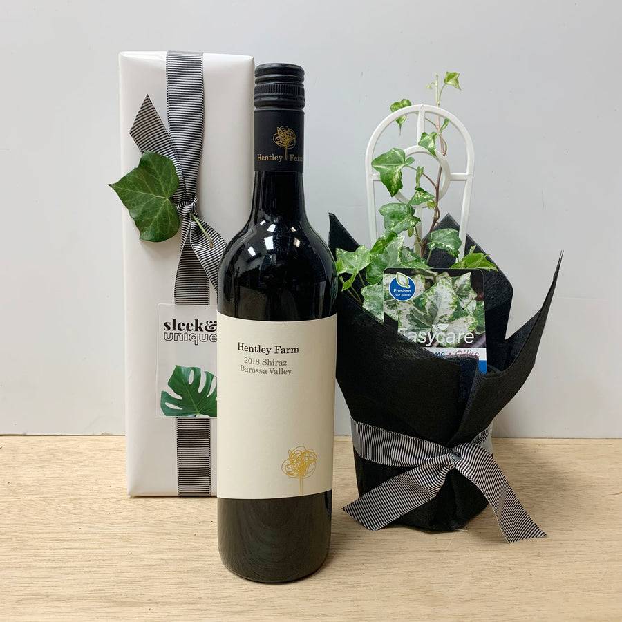 Camouflage Ivy Plat & Hentley Farm Shiraz Gift Set - Gift Delivery Adelaide