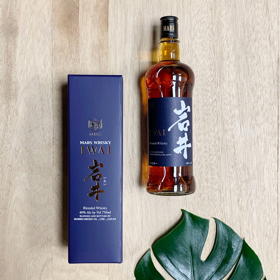 Iwai Whisky, created in Japan in Gift Box - Whisky Gift Hamper Adelaide