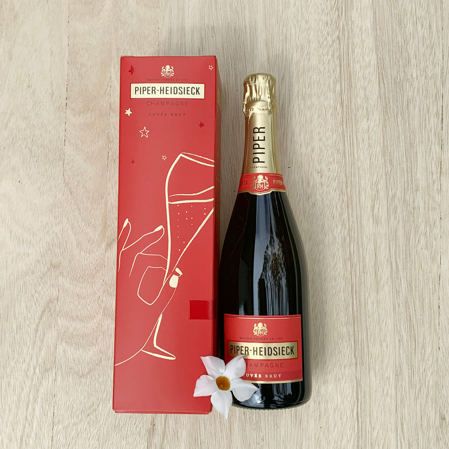 Piper-Heidsieck Champagne Cuvee Brut 750ml (Boxed) - Sleek and Unique Gifts