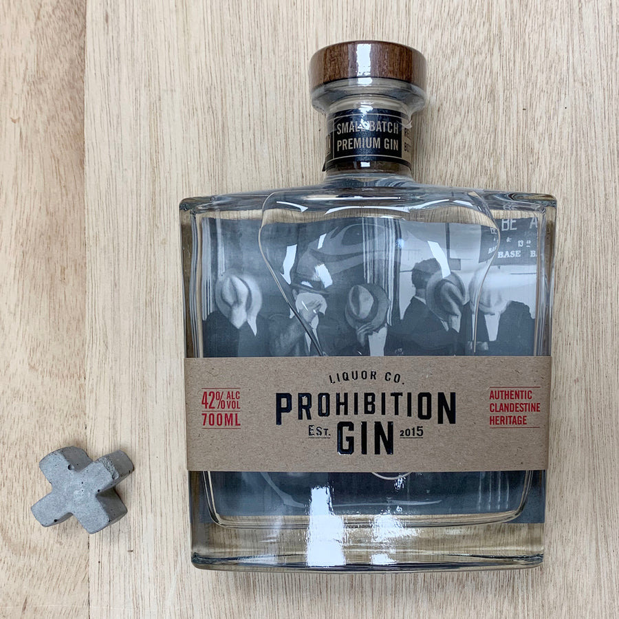 Prohibition Liquor Co Gin 700ml - Gift Delivery Adelaide
