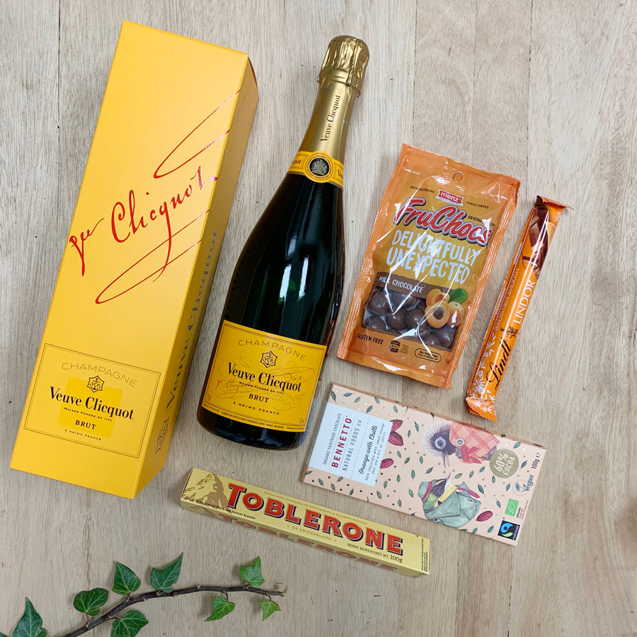 Veuve Champagne Gift Box - Australia Wide Delivery - Sleek and Unique Gifts