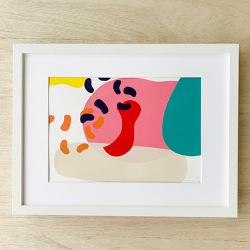 Original Screen Print - Abstract - Sleek and Unique Gifts