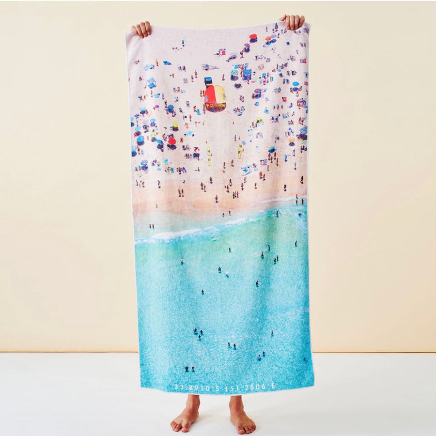 Aussie Summer Destination Towel Sand Free - Gift Delivery Adelaide