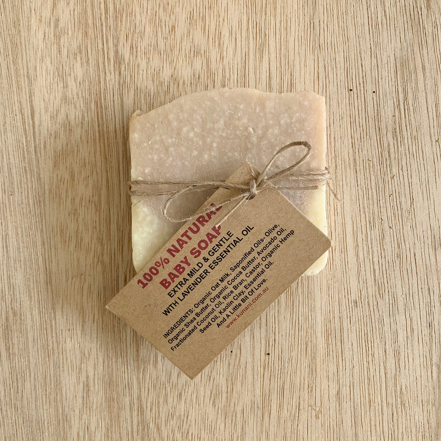 100% Natural Baby Soap - Sleek and Unique Gifts