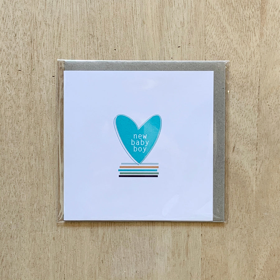Baby Boy Card - Sleek and Unique Gifts