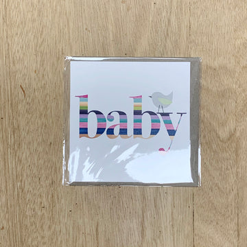 Unisex Baby Gift Card by Rhicreative - New Baby Gift Boxes Adelaide
