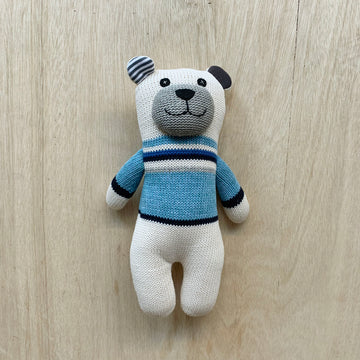 Baby Teddy - Micky & Stevie Polar Bar Knitted - Sleek and Unique Gifts