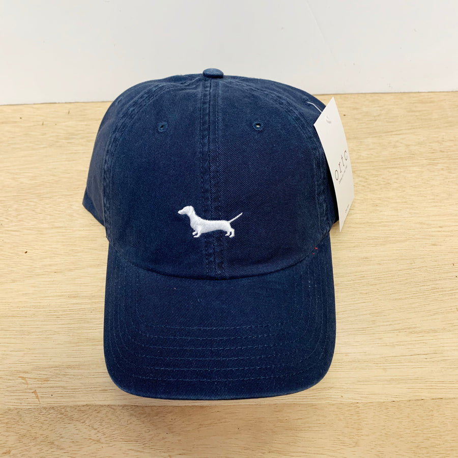 Dachshund Blue and White Cap ORTC - Gift Delivery Adelaide
