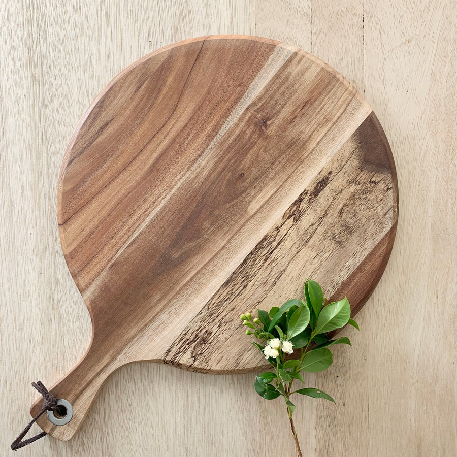 Homeware cheeseboard wood