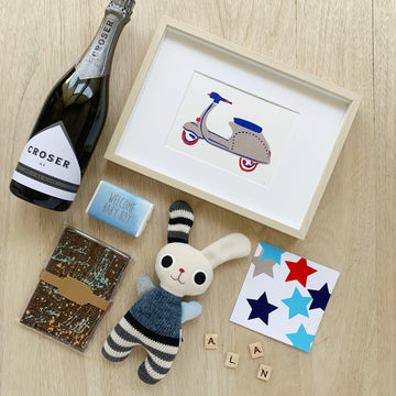 Baby Boy Gift Box - Adelaide Delivery - Sleek and Unique Gifts