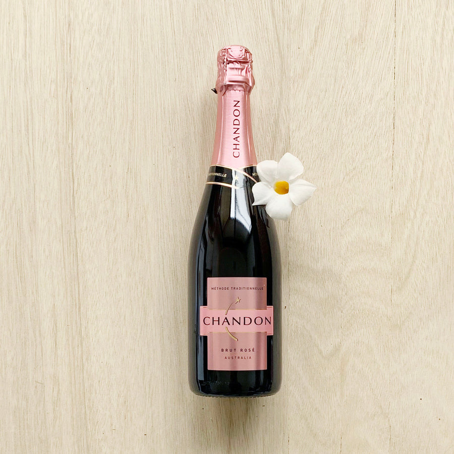 Chandon Brut Sparkling Rose 750ml - Sleek and Unique Gifts