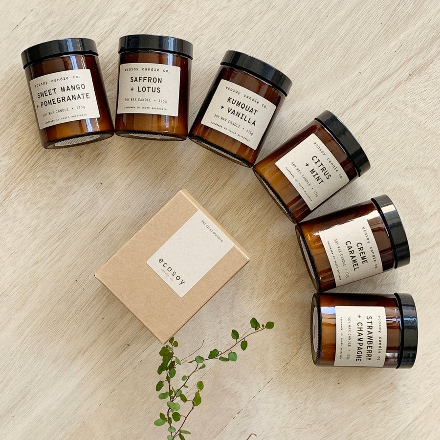 Adelaide Gift Delivery - Eco Soy Candles - Sleek and Unique Gifts