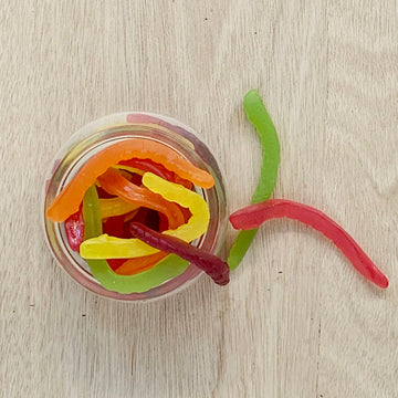 Allens Snakes Lollies in Jar - Adelaide Gifts