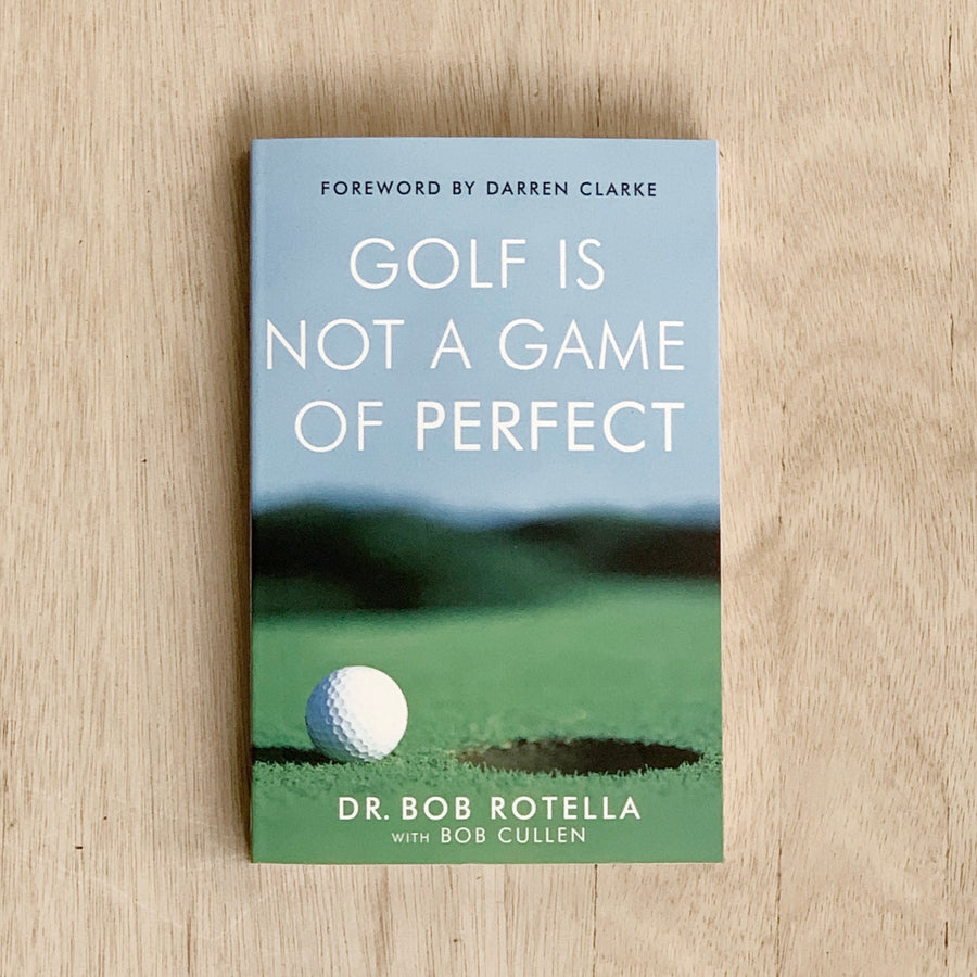 Golf Is Not a Game of Perfect Book - Book Gift Adelaide Delivery