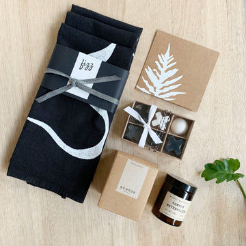Handcrafted homewares gift box