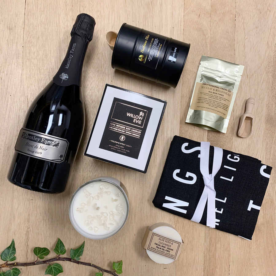 'Burnside Bundle' Luxury Gift Basket / Gift Box - Sleek and Unique Adelaide Gifts