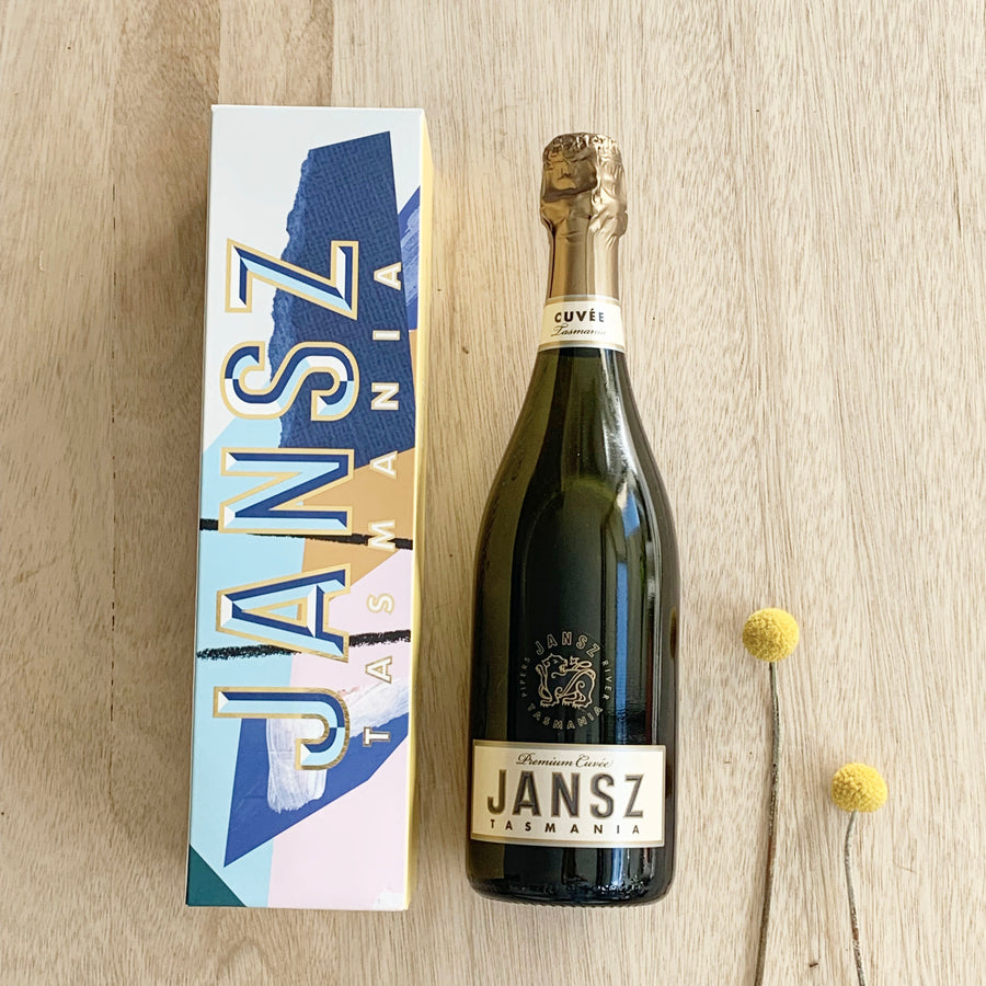 Jansz Premium Cuvee Bubbles 750ml (Boxed) - Sleek and Unique Gifts