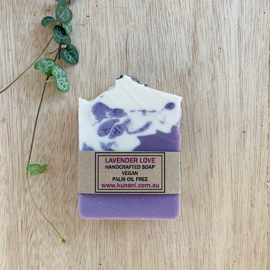 Lavender Love Soap Created in Adelaide - Sleek and Unique Gifts
