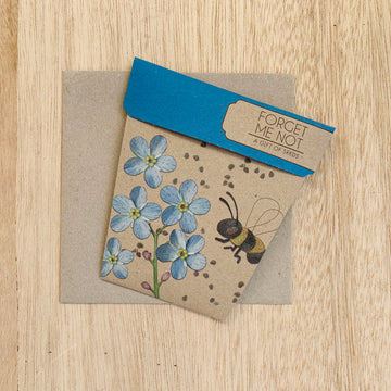 Forget Me Not - A gift of Seeds - Sleek and Unique Gifts