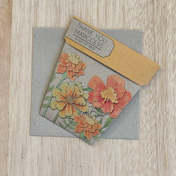 Marigolds - A Gift of Seeds - Sleek and Unique Gifts