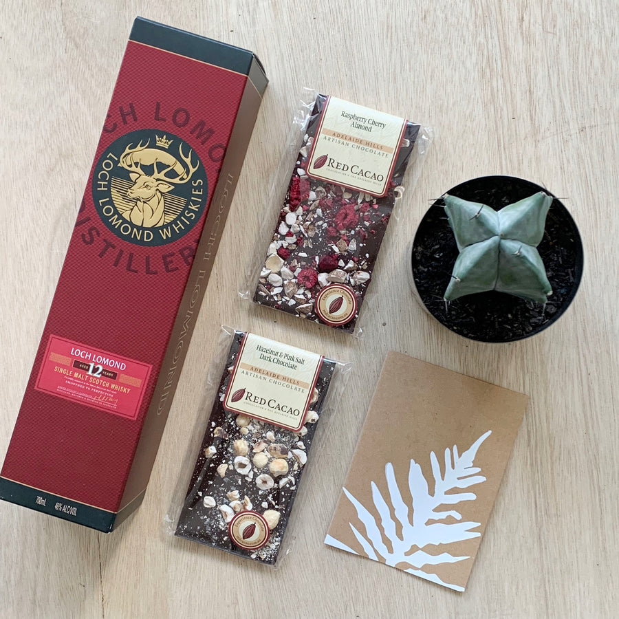 Adelaide Gift Delivery - Whiskey Male Gift Box