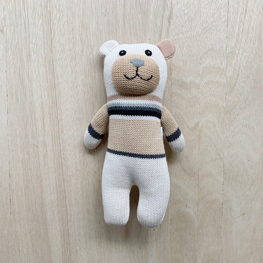 'Charlie' teddy bear for newborn baby boy or baby girl - Adelaide Gift Delivery