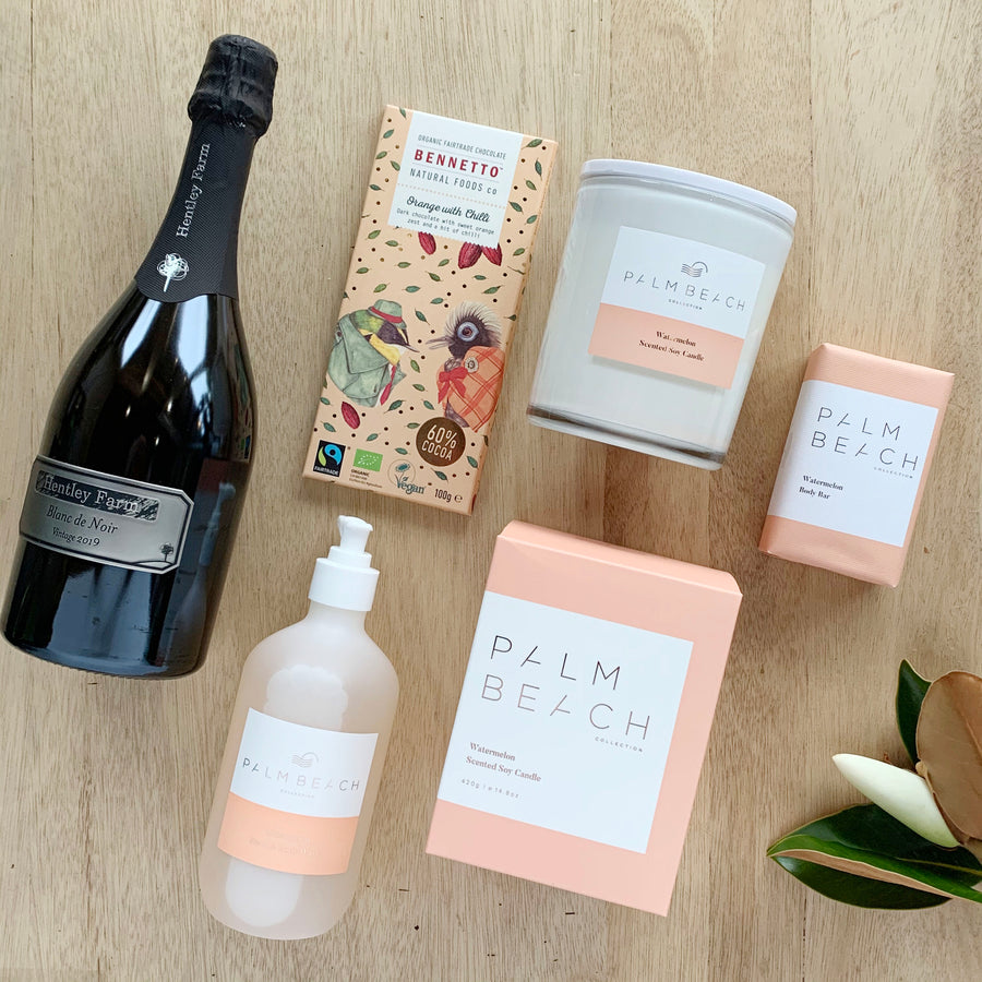Peaches and Cream Gift Box - Gift Delivery Adelaide