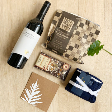 Red Wine Gift Box - Mens Gift Box Delivery Australia