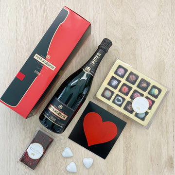 Romance Pack with Piper-Heidsieck Champagne Vintage 2008