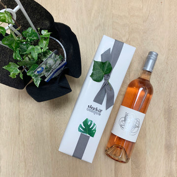 Camouflage Ivy Plant and Hentley Farm Rose Gift Package - Sleek and Unique Gifts