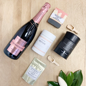 Chandon Sparkling Rose and Luxury Female Items - Sleek and Unique Gifts