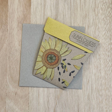 Sunflowers - A Gift of Seeds - Sleek and Unique Gifts