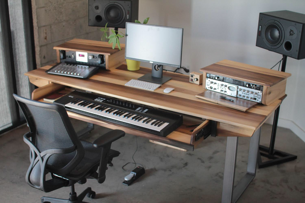 Monkwood SD61 Studio Desk for Audio / Video / Music / Film / Production