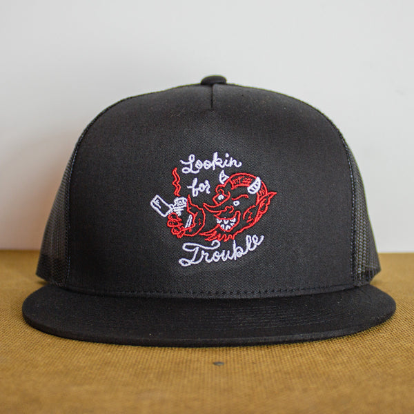 Lookin' for Trouble Snapback Hat
