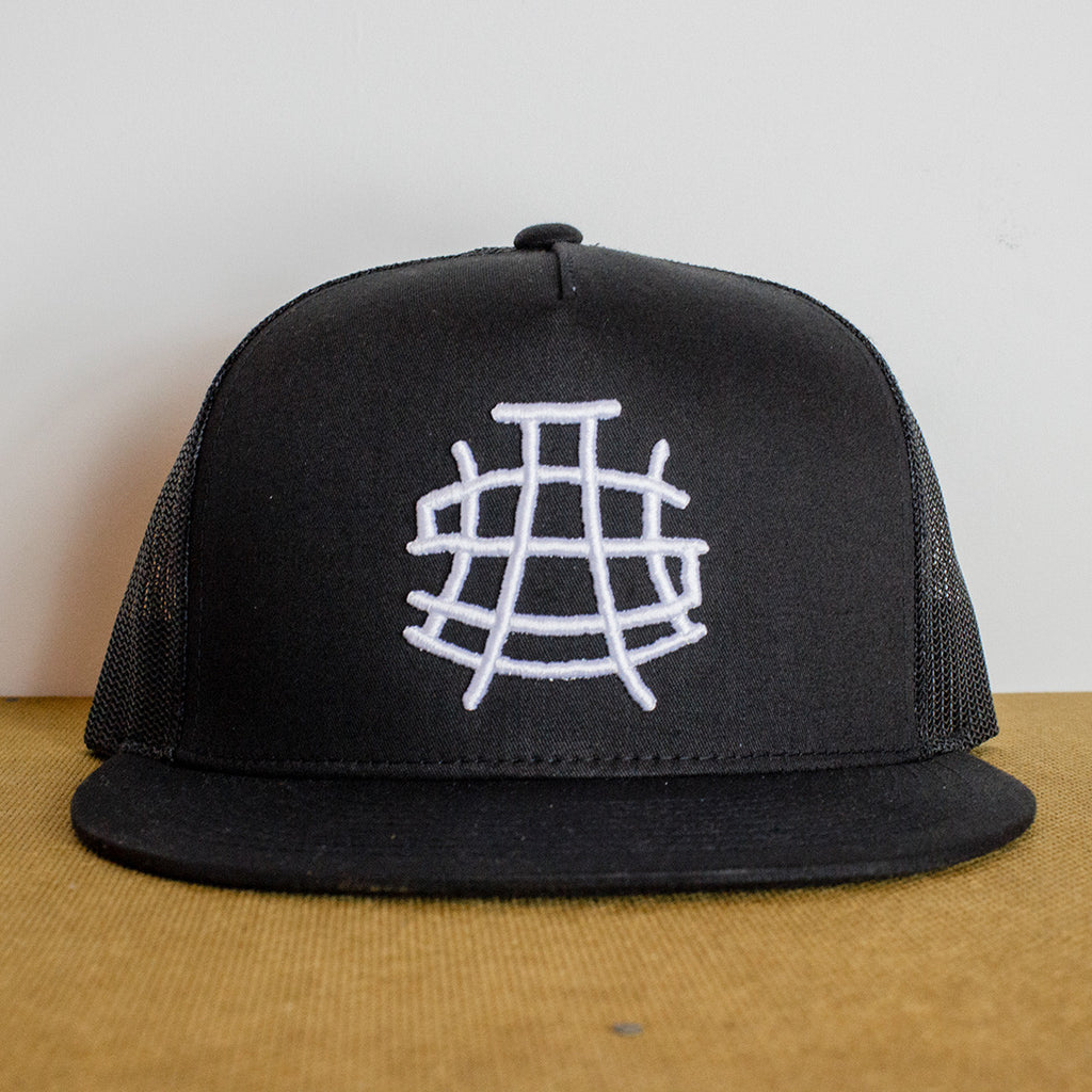 USA Black Snapback Hat