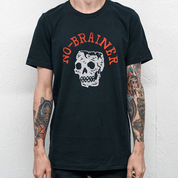 No-Brainer Vintage Black T-Shirt